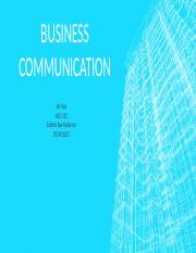 Business communication hcs131 ppt.pptx