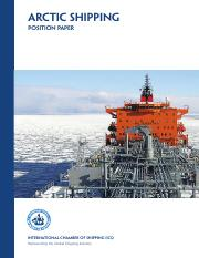 ARCTIC SHIPPING - Position Paper (2014).pdf