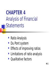 4. Chapter 4 RATIO ANALYSIS.ppt