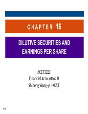 Ch16 Dilutive Securities and Earnings Per Share.pdf