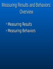 Ch5Measuring_Results__Behviors.ppt