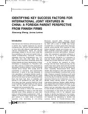 07_IDENTIFYING KEY SUCCESS FACTORS FOR INTERNATIONAL JOINT VENTURES.pdf