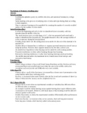 Psychology of Memory reading notes