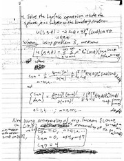 Practice Exam 2B Solution on Mathematical Methods in Science and Engineering 2