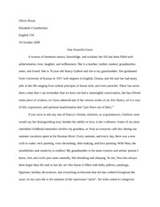 Sequence 2 Essay
