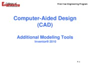 Inventor - Additional Modelling Tools_110609