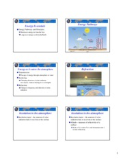 lecture 5 earth's energy balance slides