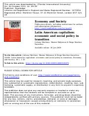 FIN4651 Module9 Reading2 - Latin American capitalism economic and social policy in transition.pdf