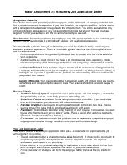 Major Assignment 1 Resume and Cover Letter.pdf