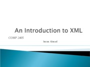 3-Introduction to XML
