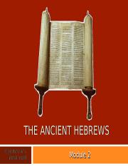 The Ancient Hebrews.ppt