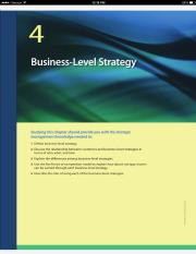 Strategic Mgt - Chapter 04