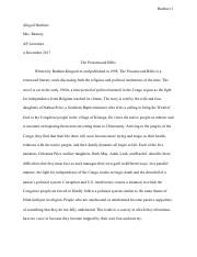 Proposal Essay Examples  Pages Poisonwood Bible Essaypdf English Essay Example also Examples Thesis Statements Essays The Poisonwood Bible  Carol Victor Poisonwood Bible Essay  Essay Paper Help