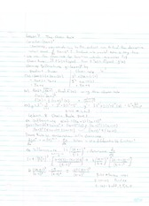 Chain Rule and Implicit Differentiation notes