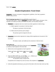 Student Exploration Food Chain Answer Key.zip - L ...