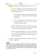 Principle of Impulse Applications Notes