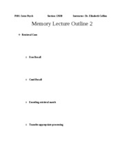 Outline+Chapter+8+Memory+2