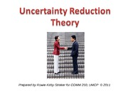 uncertainty reduction theory annotated bibliography The uncertainty reduction theory by charles berger is a deductive the theory or uncertainty reduction contains propositions that social free bibliography $5.