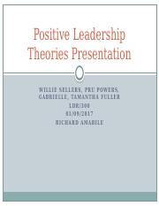 Positive Leadership Theories Presentation.pptx