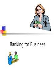 Banking for Business.ppt