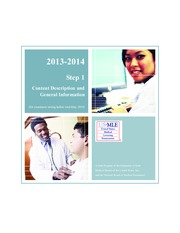 2013-2014 USMLE -Content Description - Step1