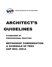 Slideserve.co.uk-ARCHITECTS GUIDELINES - UAP doc 208-A