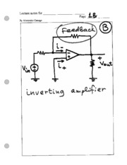 78 inverting amp -notes