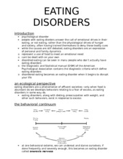 Eating Disorders [textbook]