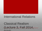Lecture+3+-+Classical+Realism (2)