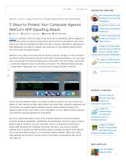 5 Ways to Protect Your Computer Against NetCut's ARP Spoofing Attack • Raymond.CC.pdf