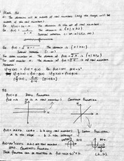Notes on Quadratic Function