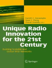Unique Radio Innovation for the 21st Century. Building Scalable and Global RFID Networks, 2010, p.47