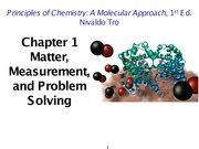 Chapter 1 Mass Matter Material and Problem Solving