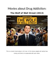 Movies about Drug Addiction.docx
