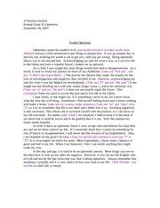 Acupuncture essays com