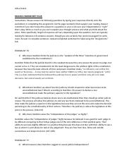 Reading Worksheet Four