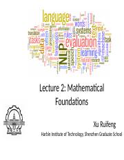 Lecture_2-Mathmatic_Foundations-v2016