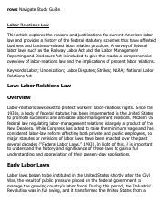 Labor Relations Law Research Paper Starter - eNotes.pdf