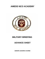 Military Briefing Advance Sheet.docx