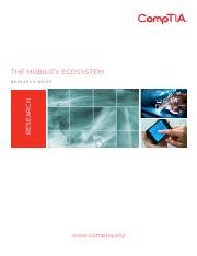 Research Brief - CompTIA - Mobility Ecosystem