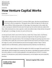 How Venture Capital Works.pdf