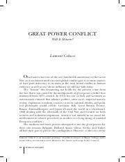 Great Power Conflict - Will Return-.pdf
