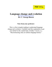 PDF #11a. Lg change _ evolution