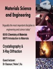 crystallography and XRD-Helen Xu.pdf