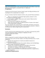 Article Critique and Recommendation Assessment 2.docx