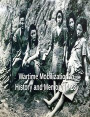 Wartime Mobilization in History and Memory (online).ppt