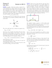 PHYS 21 Fall 2014 Homework 12 Solutions
