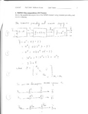 Fall 2008 Midterm I Solution