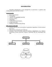 Operation Management process.doc
