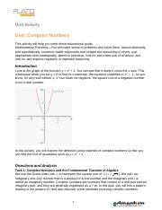Complex Numbers.doc